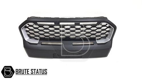 Ford Ranger 2019+ Black/Silver Grille (Wildtrak Only)