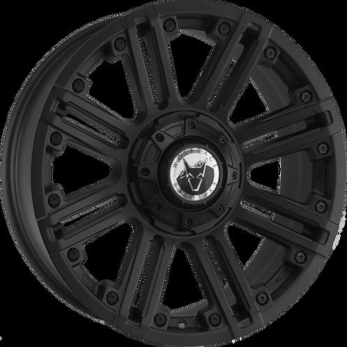 "Wolfrace Amazon Matt Black Polished 20"" Alloy Wheels"