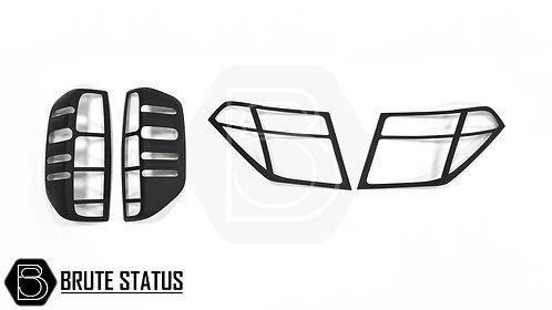 Nissan Navara D40 2005-2010 Headlight & Tail Light Covers