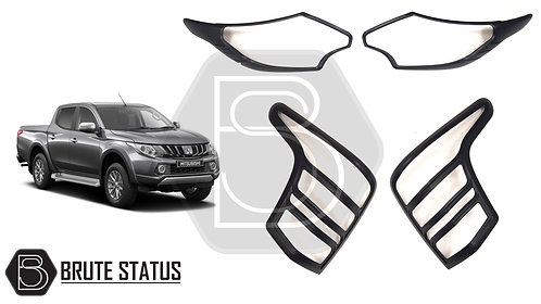 Mitsubishi L200 2015+  Head Light AND Tail Lamp Covers