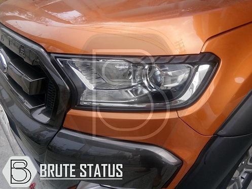 Ford Ranger 2015+ Head Light Covers