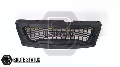 Isuzu D-Max 2016-2019 Front LED Grille (Chrome Lettering)