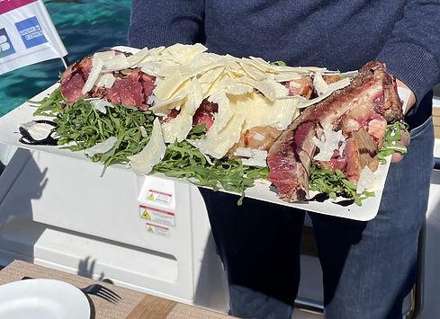 Déjeuner aux îles de Lérins