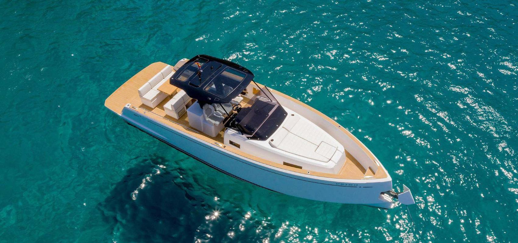 Location bateau Cannes Pardo 38