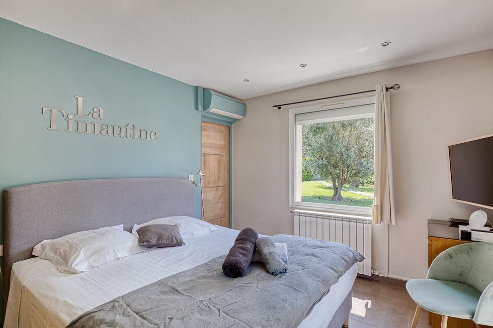 Villa Timautine Cannes Chambre Terrasse