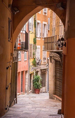 Street in Cannes