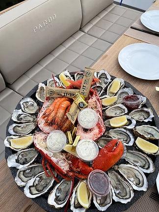 Déjeuner à bord Pardo yacht 38