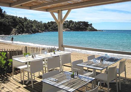 Restaurant Club Agathos Baie d'Agay