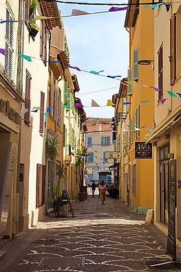 Rue à Cannes
