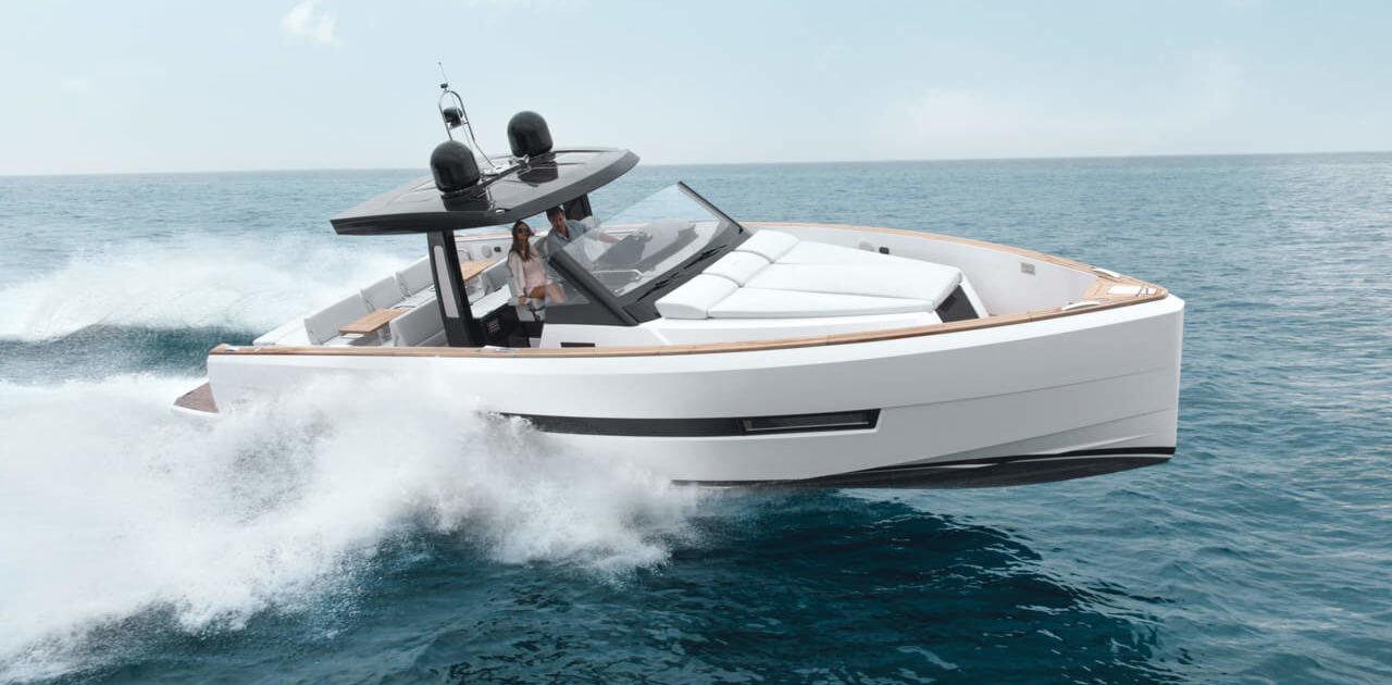 аренда лодок Канны Fjord 44