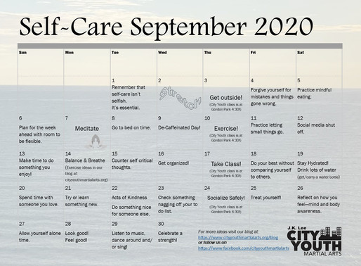 Self-Care September 2020