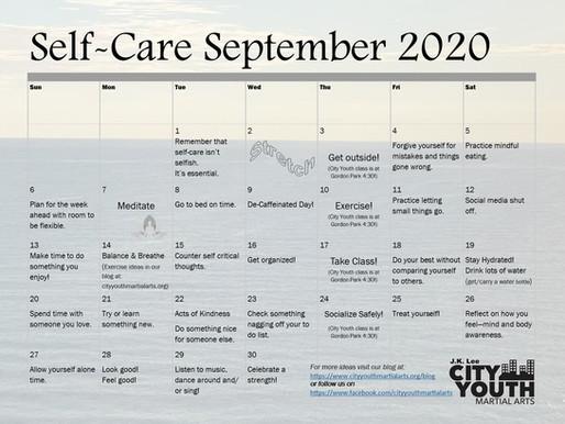 Self-Care September 2020