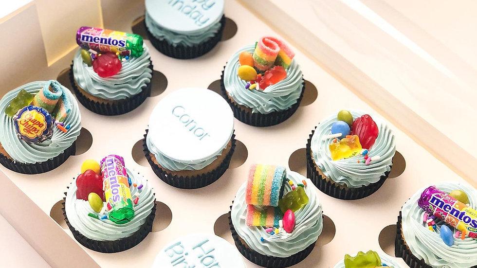 Cupcakes x Lollies - dozen