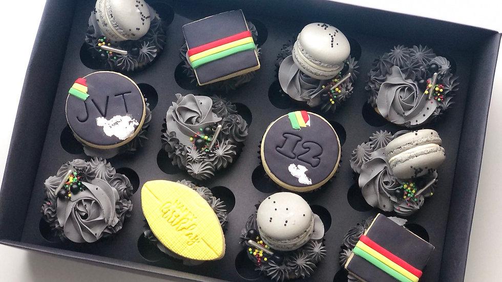 Panthers Cupcakes