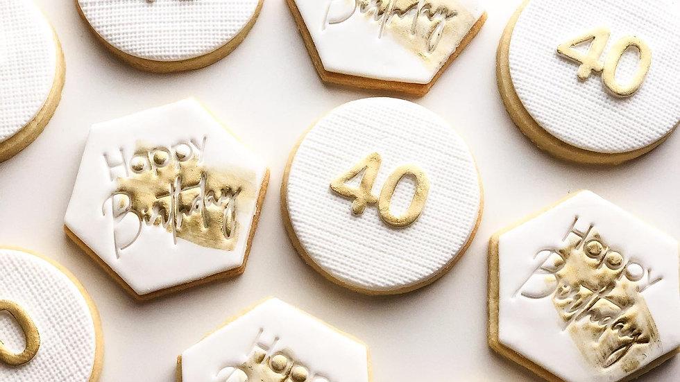 Birthday Cookies - dozen