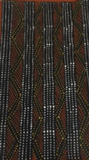 Immaculata Tipiloura   Jilamara   300 x 500mm   $990