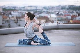 Actitud de la yoga