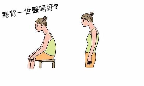 寒背6大誤解 拉筋伸展有助改善