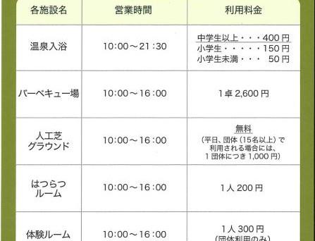 2020/5~の料金改定のご案内