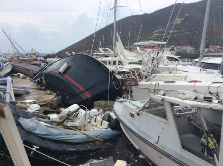 Irma's incursion: Heart-breaking firsthand report from Tortola, BVI by Facebook friend Christine
