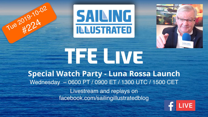 """SPECIAL TFE LIVE: Join us Wednesday for a """"Watch Party"""" — we'll show the live coverage"""