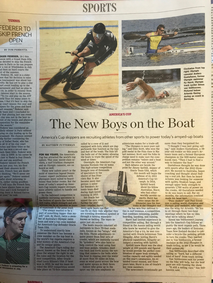 "WSJ: New ""Boys on the Boat"""