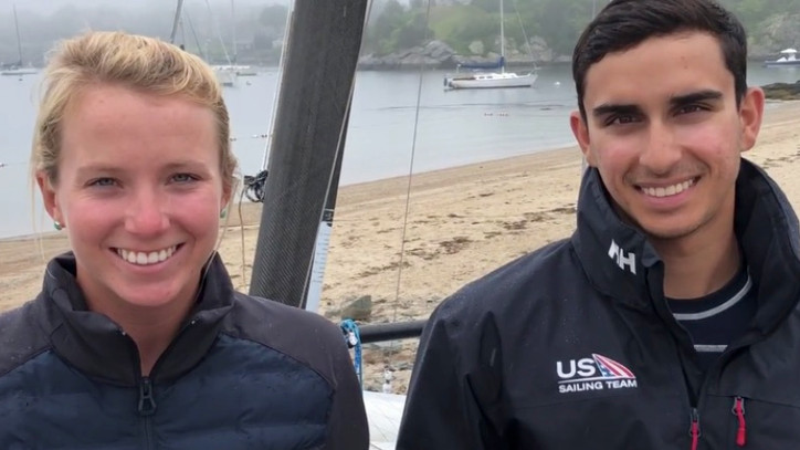 "2020 Olympics: Ravi Parent and Caroline Atwood (USA, Nacra 17) — ""Learning to turn the gravity"
