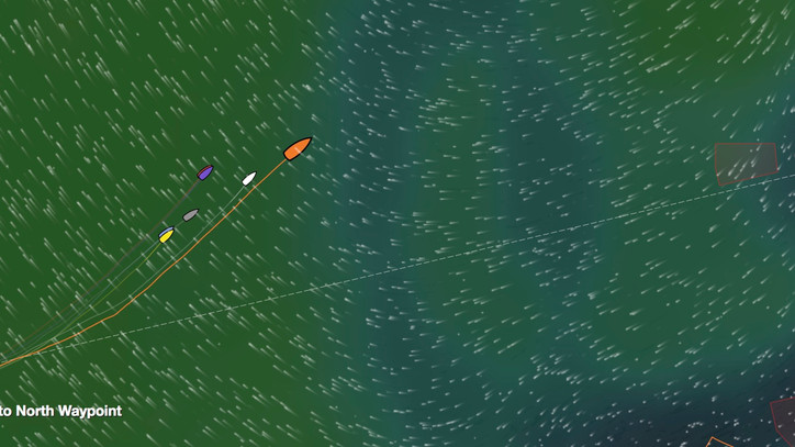 VOR: Charlie Enright's (USA) Vestas 11th Hour Racing still leading, MAPFRE 2nd, Akzo and Dongfen