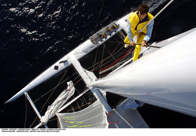 "TFE LIVE: Irrepressible super sailor, author, lecturer, adventurist, Cam ""The Ham"" Lewis ("