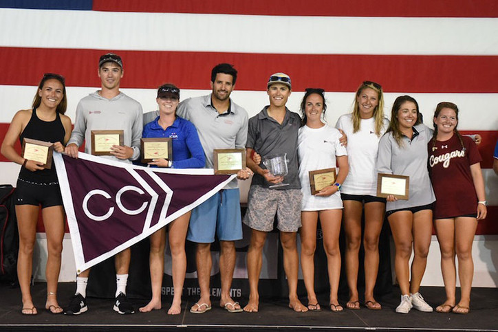 ICSA: College of Charleston wins prestigious Gill Coed College Dinghy Champs; Ian Barrows named Marl
