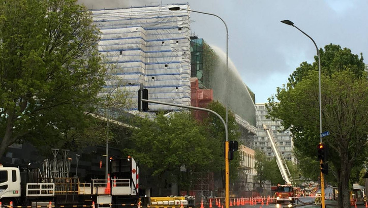 TFE LIVE: Richard Gladwell (NZL) live from Auckland on the serious convention center fire that has b