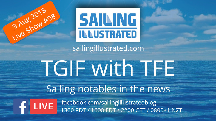 TGIF with TFE: Special live show today with Bill Canfield, President of the Virgin Islands Sailing A