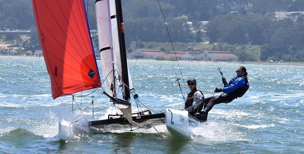 Saturday's High Performance NACRA clinic hosted by StFYC.