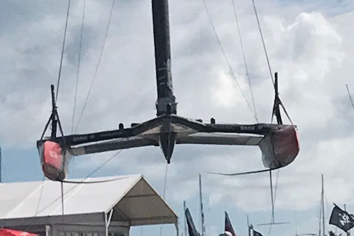 AC35 Match: Day 4, Race 7 – Kiwis go up 5-1