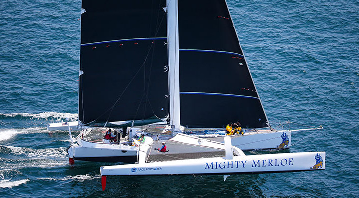 Transpac: MIGHTY MERLOE first to finish; sets new multihull elapsed time record