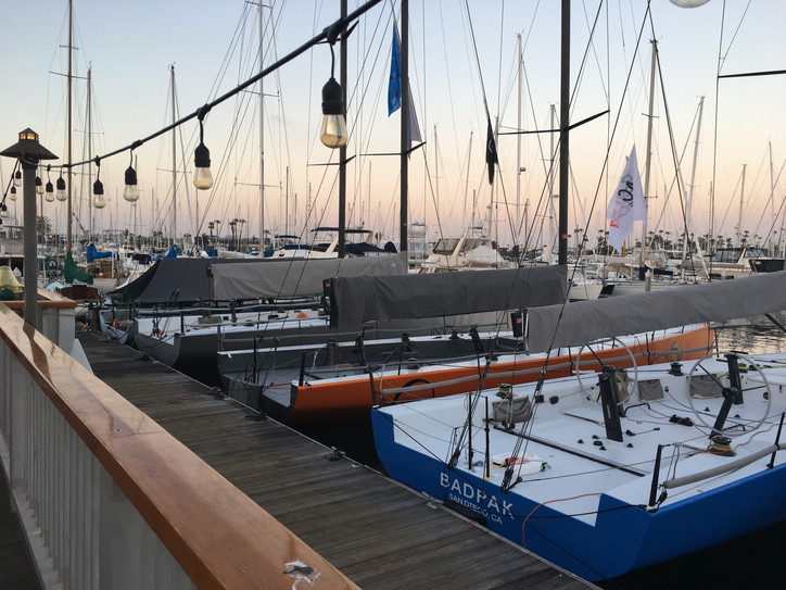 'Twas the night before Yachting Cup, and all through the Club...