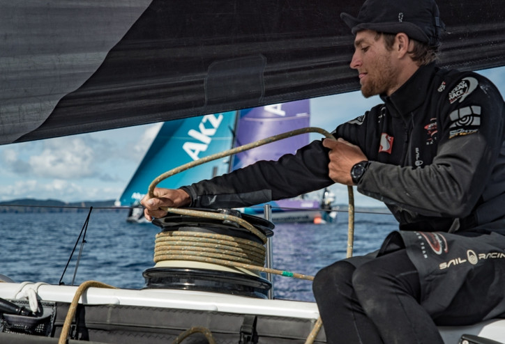 VOR: Congrats to Simeon Tienpont (NED) and his AkzoNobel team for their Leg 6 win into AKL, after &#