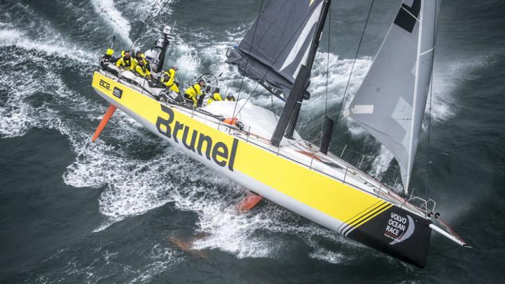 VOR Breaking: Team Brunel edges fellow Dutch team AkzoNobel to win Leg 9; Dongfeng Race Team moves i