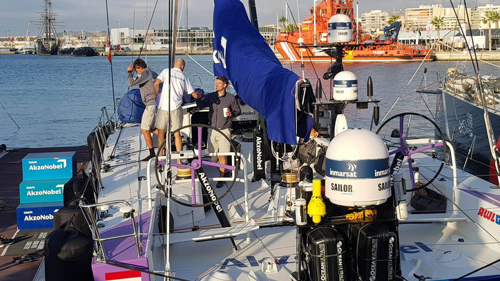 VOR: Photos of the day – 'Welcome back, Simeon'