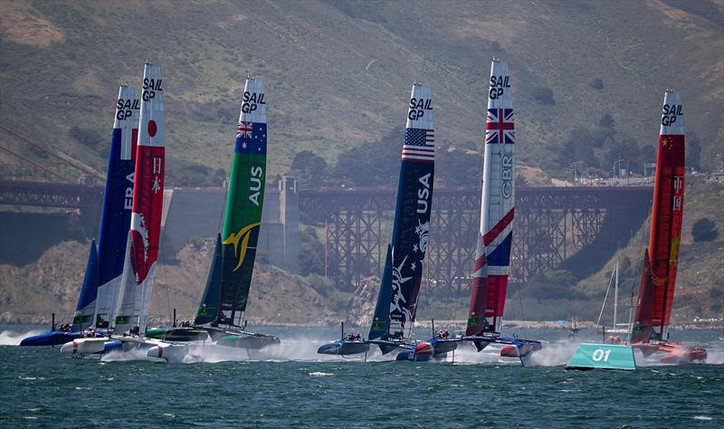 "TFE LIVE: Join us for today's (Tuesday) show; San Francisco's Sail GP ""Event 2"" is"