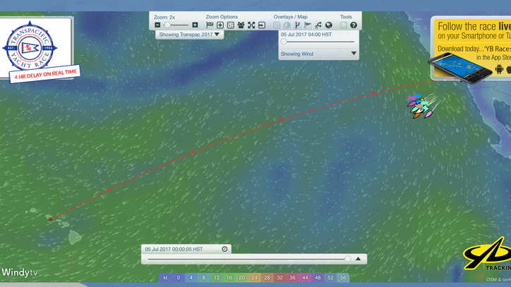 Transpac: Second of three starts off Pt Fermin this afternoon; final start tomorrow