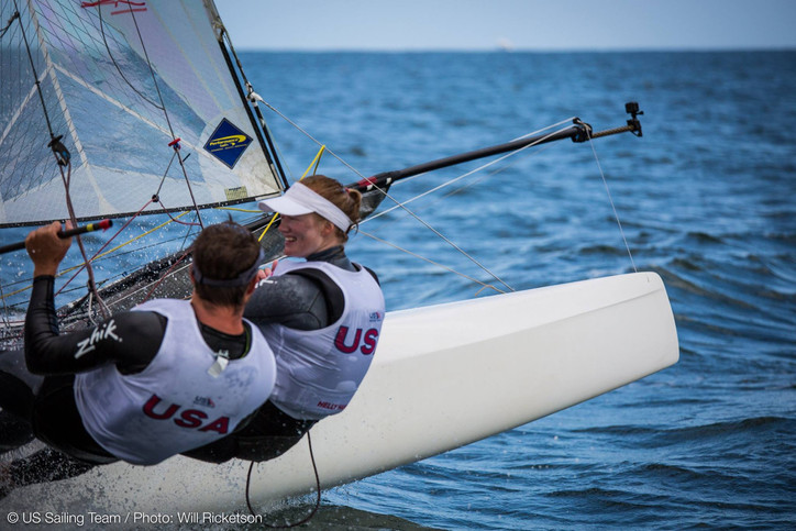 Nacra 17 Worlds: Only one USA entry; no gennakers upwind