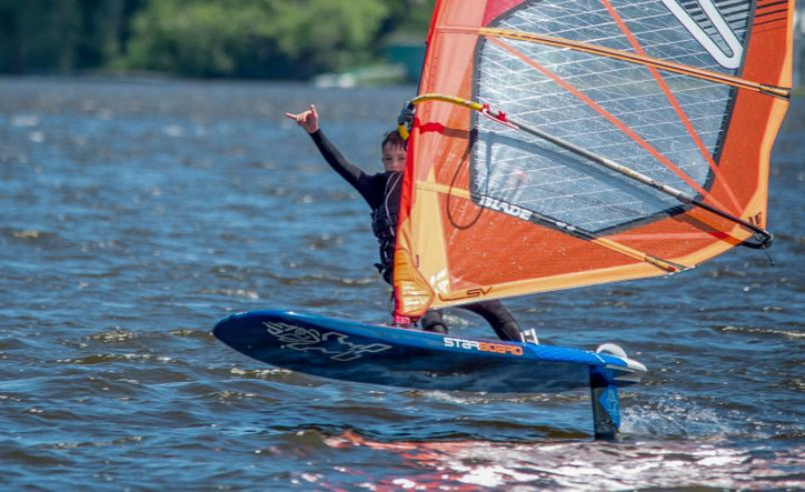 """Windfoiling: """"It's removed the physical element, pumping is not in there...rejuvenated wind"""