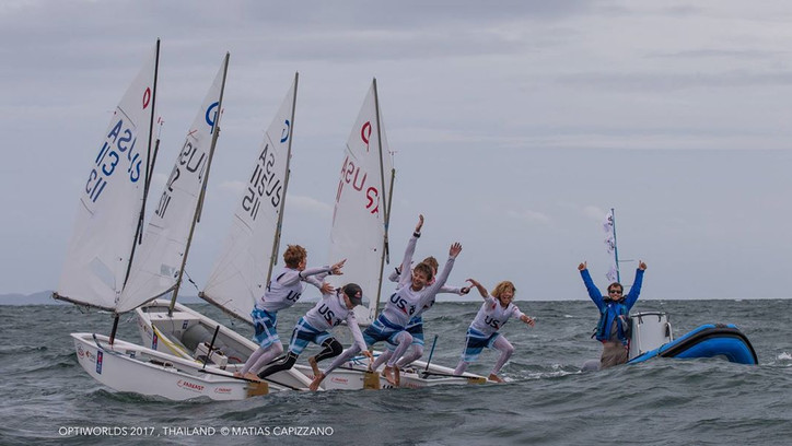 Optimist Worlds: Team USA (Baker, Callahan, Callahan, Leigh and O'Keefe) repeat as World Champs