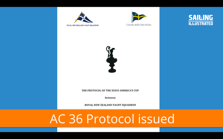 AC36 Protocol: By request – slides from yesterday's Tuesdays with TFE; next week's guest wil