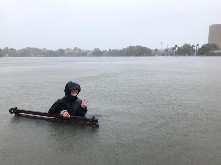 Irma's incursion: 'Incredible' flooding in downtown Charleston, SC as Irma pounds coasta