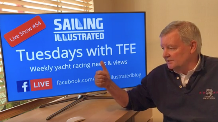 Tuesdays with TFE: Watch a replay of today's Facebook Live netcast with the latest on the VOR, t