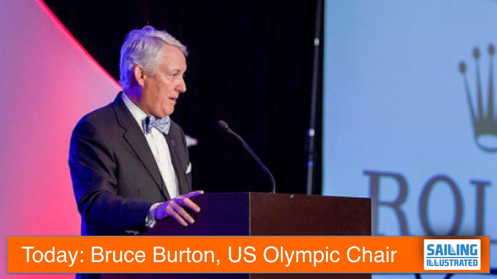 TFE LIVE: Bruce Burton, former US Sailing President and current Chairman of the US Olympic Sailing C