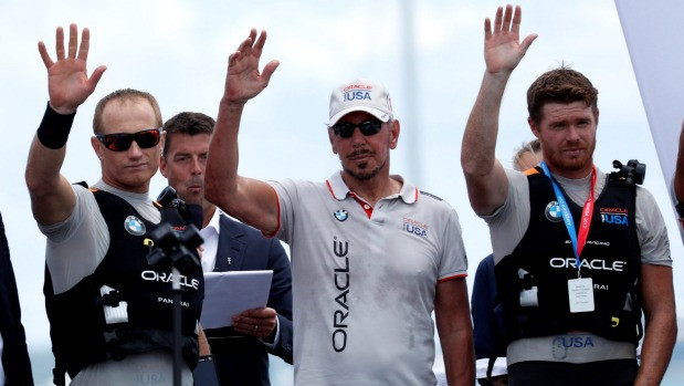 AC36: Are Jimmy Spithill and Larry Ellison teaming up again for a Cup challenge?