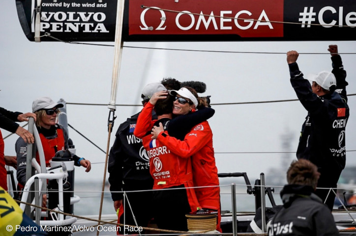 VOR: Congrats to Charles Caudrelier (FRA) and his Dongfeng Race Team (CHN) for their amazing come-fr